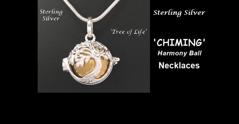 Chiming Tree of Life Necklaces