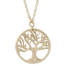 Tree of Life Necklace green foliage