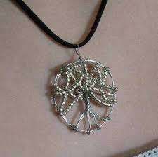 tree of life necklace with owl