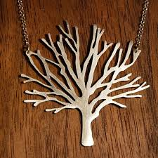 tree of life necklace with detailed celtic pendant