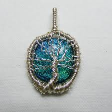 Tree of Life Necklace sterling silver with vermeil